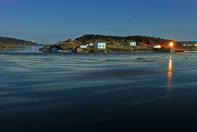 """Night Floes"" Green's Cove, NL"