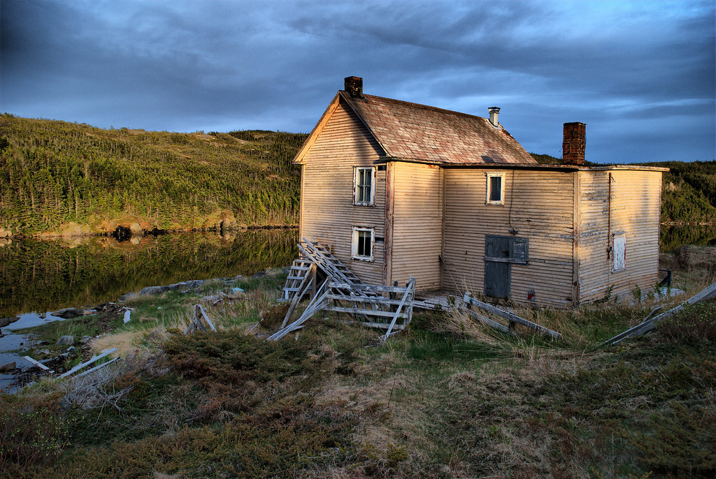 """""""This Old House"""" Pike's Arm, Newfoundland"""