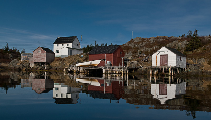 """Mirror Reflection"" Too Good Arm, Newfoundland"