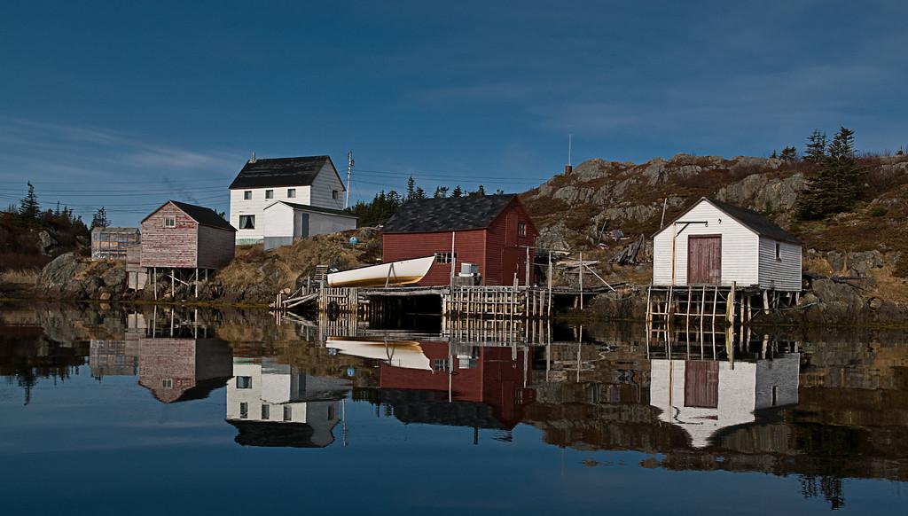 """Mirror Reflection"" Too Good Arm, Newfoundland"