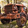 rusty farm truck