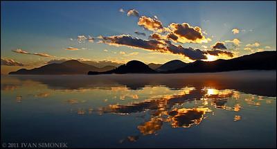 """""""DELTA EVENING"""",Stikine river delta,Alaska,USA."""