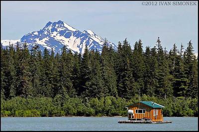 """""""FLOAT HOUSE #3"""",Shakes Slough,Alaska,USA"""