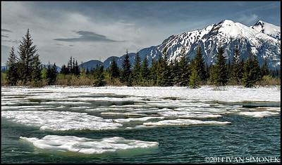 """""""SHAKES SLOUGH 1"""",Alaska,USA."""