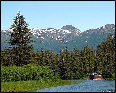"""""""PICTURESQUE"""", Stikine river area, Alaska, USA.-----""""MALEBNE"""", okoli reky Stikine, Aljaska, USA."""