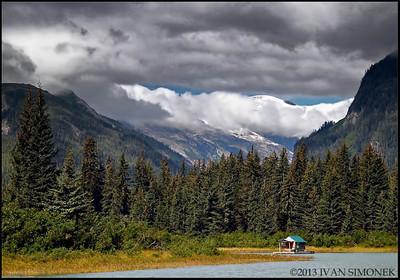 """""""SIMPLE LIVING"""",Alaska,USA."""