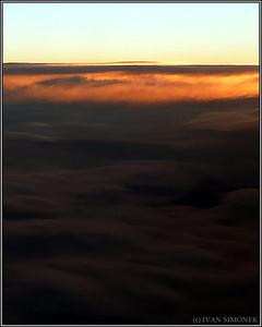 """""""SUNRISE OVER SOUTHEAST ALASKA"""",Alaska,USA."""