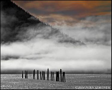 """RED DAWN"",Alaska,USA."