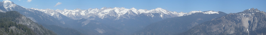 Another pan of the Great Western Divide.