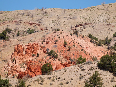 Landscape at Red Rock Canyon.