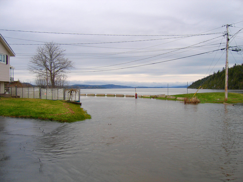 TIPPETT DR - ABOUT 30 CM OF WATER ON THE ROAD