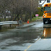 DOMINION PARK RD - WATER OVERFLOWING ON THE RD