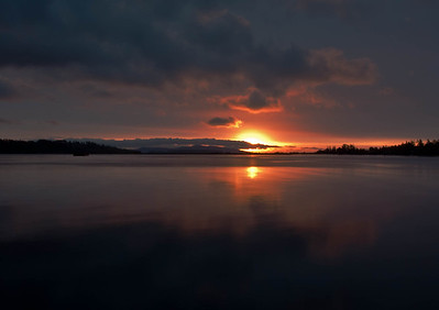 Saanichton Bay Sunrise