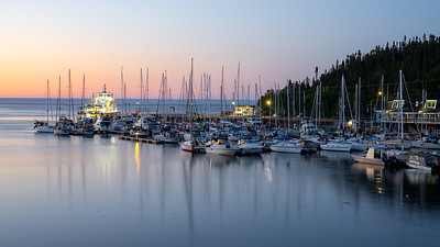 Tadoussac Harbour in the Early Morning