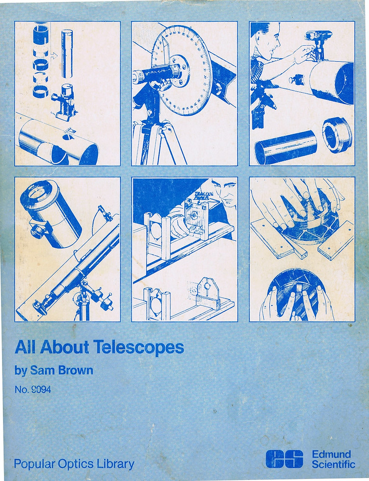 Sam Brown's Book - All about Tellescopes