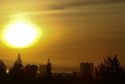 San Francisco Sunset October 2008