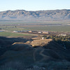 <h3>South from Lamb Canyon.