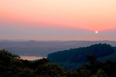 Sunrise Over Crystal Springs