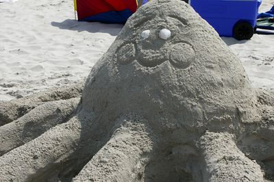 Sand Sculpture Contest, Ipswich