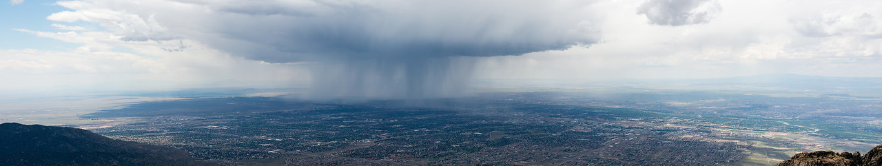 Cloudburst from La Luz