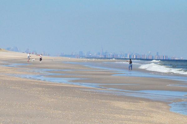 Sands - nice day in September