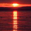 Sunset over Raritan Bay