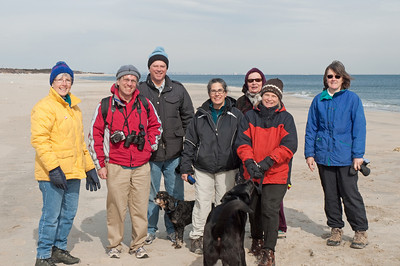 Sandy Hook Hike 2011-02-12
