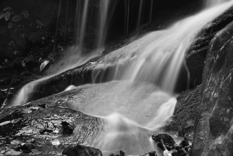 Detail of Dark Hollow Falls, Shenanndoah National Park