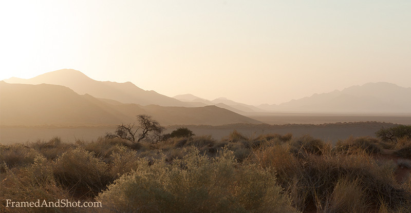 <em><b><center> Sunrise The NamibRand Nature Reserve