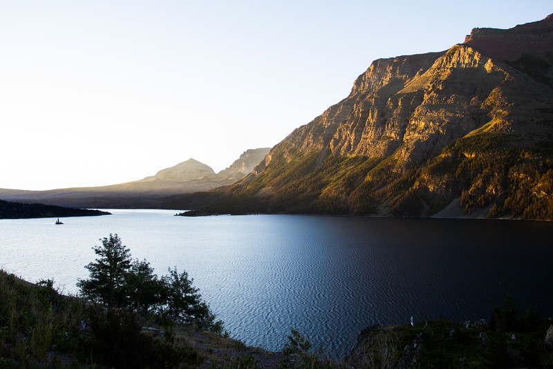 Sunrise over St. Mary Lake Glacier National Park