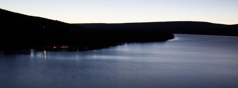 Night shots of Glacier National Park