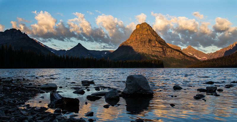 Sunrise Two Medicine, Glacier National Park