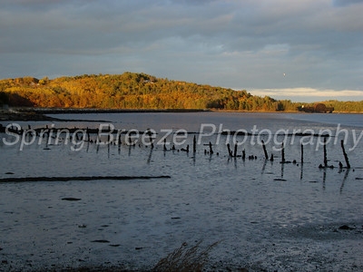 Sheepscot River in Wiscasset Maine Oct 2010