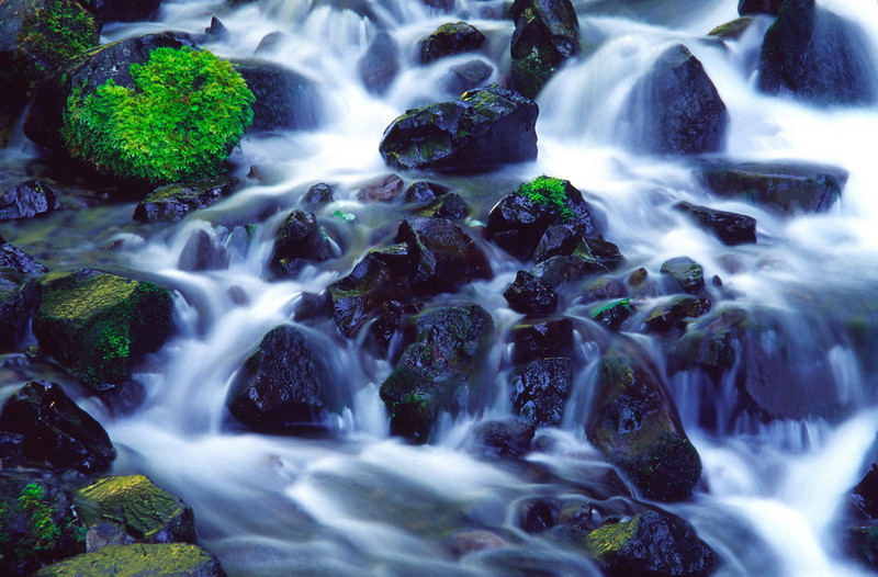 Cascade on a tributary leading into the Columbia River