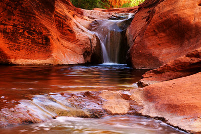 Red Reef Waterfall