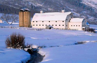 McPolin Farm near Park City, Utah