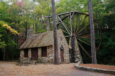 Old Mill at Berry College in Georgia