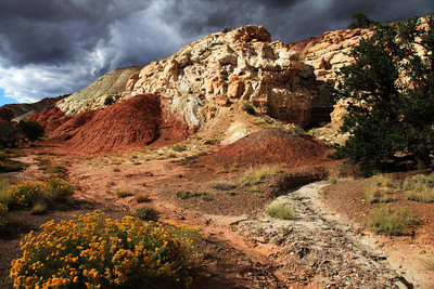 Near Capitol Reef National Park in Utah