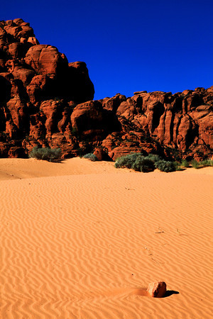 Sand Dunes in Snow Canyon, Utah