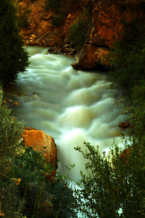 Six Mile Canyon (Utah), Spring Runoff