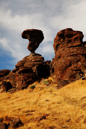 Balanced Rock near Buhl, Idaho