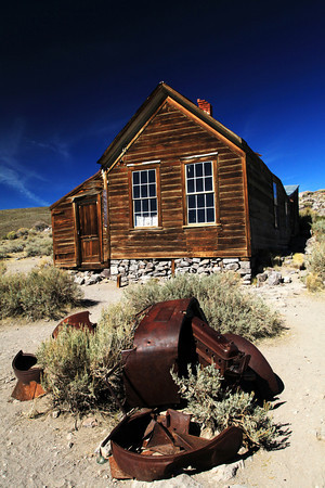 Ghost Town at Bodie, California