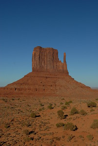 © Joseph Dougherty. All rights reserved.   Sandstone formations in Monument Valley, Navajo Nation, northern Arizona.