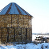 (180) Corn Crib in Madison County, Iowa