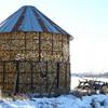 (180) Corn Crib in Madison County, Iowa