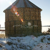 (177) Corn Crib in Madison County, Iowa