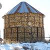 (178) Corn Crib in Madison County, Iowa
