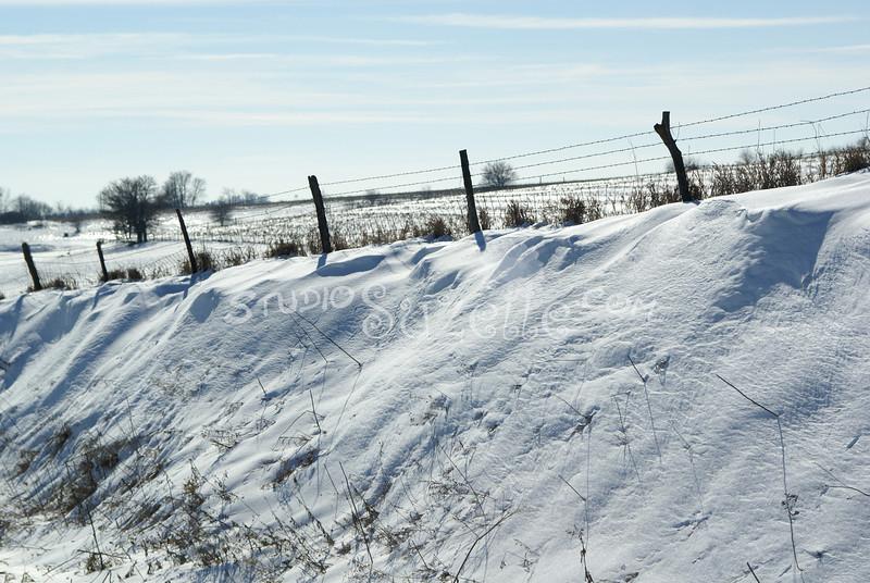 (142) Snow Scenes in Iowa