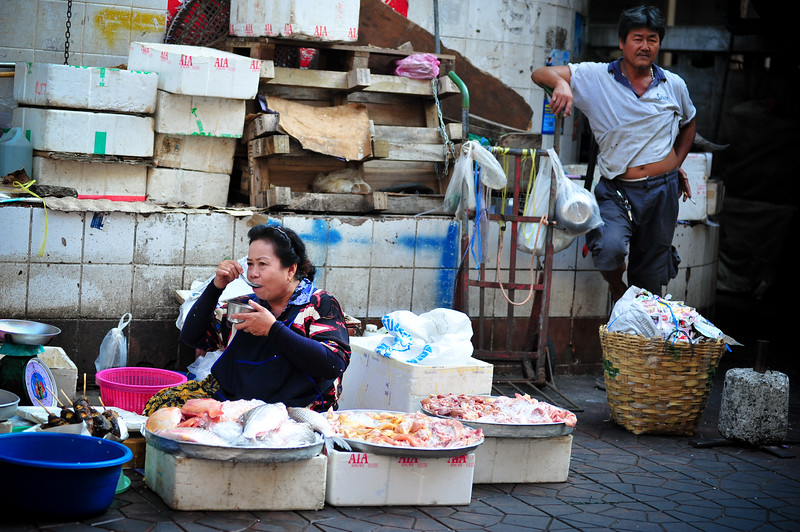 Street market, Bangkok (Thailand)