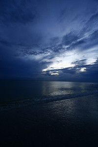 Taken at a Pinellas county beach near sunset